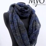 alpaca Infinity scarf _ Myo Textile