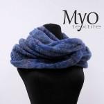 Alpaga infinity scarf by Myo textile