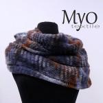 alpaca infinity scarf by Myo Textile