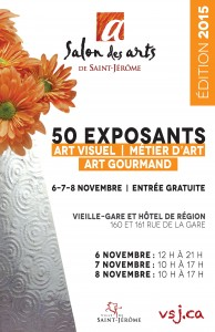 Salon des arts de Saint-Jérome 2015